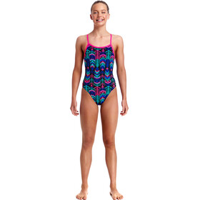 Funkita Single Strap One Piece Badpak Kinderen bont